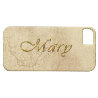 MARY Name Branded iPhone 5 Case