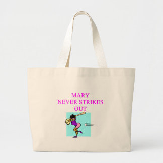 MARY never strikes out Tote Bag