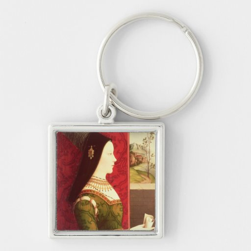 Mary of Burgundy  daughter of Charles the Bold Keychain