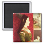Mary of Burgundy  daughter of Charles the Bold Refrigerator Magnet