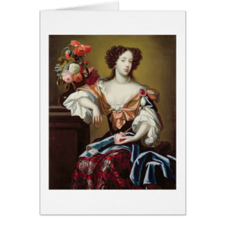Mary of Modena (1658-1718), c.1680 (oil on canvas) Card