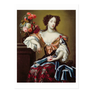 Mary of Modena (1658-1718), c.1680 (oil on canvas) Postcard
