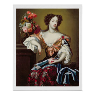Mary of Modena (1658-1718), c.1680 (oil on canvas) Poster