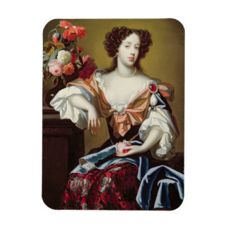 Mary of Modena (1658-1718), c.1680 (oil on canvas) Rectangular Photo Magnet