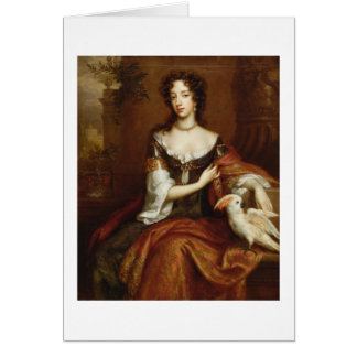Mary of Modena (1658-1718), c.1685 (oil on canvas) Card