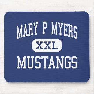 Mary P Myers Mustangs Middle Louisville Mousepad