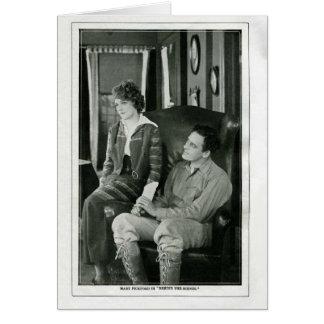 Mary Pickford 1914 vintage movie still card