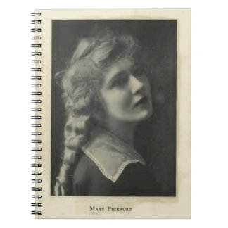 Mary Pickford portrait Notebook