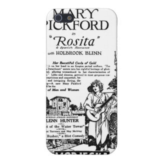 Mary Pickford Rosita 1924 iPhone 5 Funda