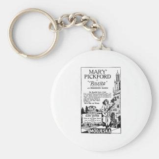 Mary Pickford Rosita 1924 Keychain