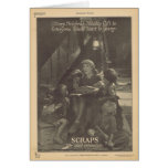 Mary Pickford Sparrows movie ad Greeting Card