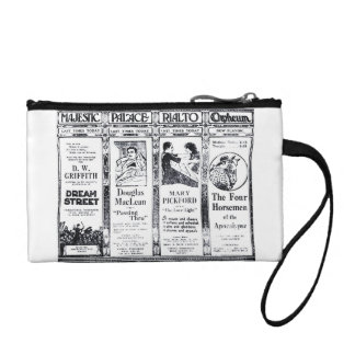Mary Pickford vintage movie advertisements Coin Wallet
