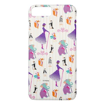 Mary Poppins & Friends Striped Pattern iPhone 8 Plus/7 Plus Case