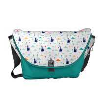 Mary Poppins | Magic Fills the Air Pattern Messenger Bag