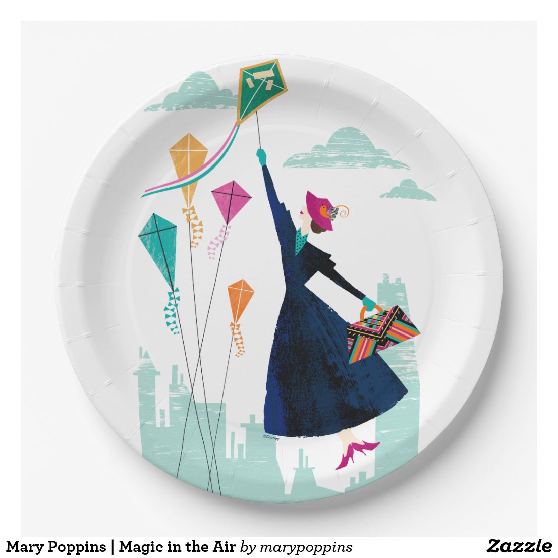 Mary Poppins | Magic in the Air Paper Plate