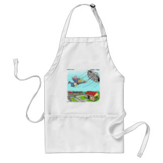 Mary Poppins Umbrella Funny Gifts Tees Etc Adult Apron