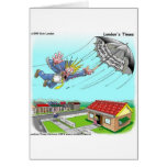 Mary Poppins Umbrella Funny Gifts Tees Etc Greeting Card