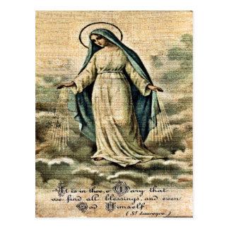 Mary Postcard