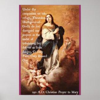 Mary Prayer poster