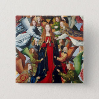 Mary, Queen of Heaven, c. 1485- 1500 Button