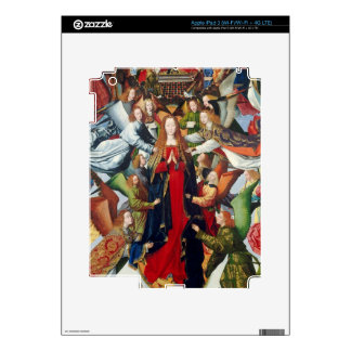 Mary, Queen of Heaven, c. 1485- 1500 Decal For iPad 3