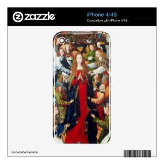 Mary, Queen of Heaven, c. 1485- 1500 iPhone 4 Skin