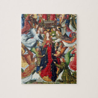 Mary, Queen of Heaven, c. 1485- 1500 Jigsaw Puzzle