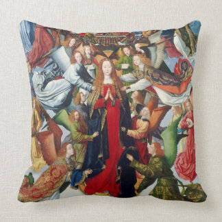 Mary, Queen of Heaven, c. 1485- 1500 Pillows