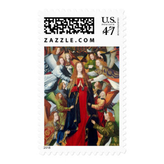 Mary, Queen of Heaven, c. 1485- 1500 Postage