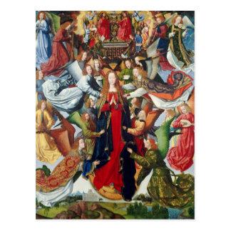 Mary, Queen of Heaven, c. 1485- 1500 Postcard