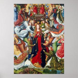 Mary, Queen of Heaven, c. 1485- 1500 Poster