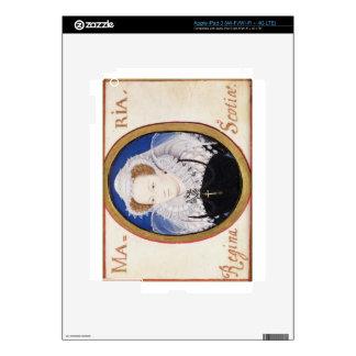 Mary Queen of Scots (1542-87) (gouache on vellum) iPad 3 Decals