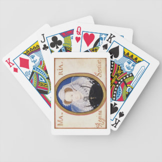 Mary Queen of Scots (1542-87) (gouache on vellum) Bicycle Poker Cards
