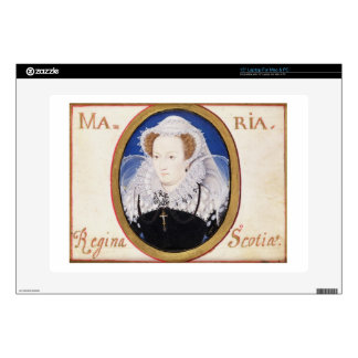 Mary Queen of Scots (1542-87) (gouache on vellum) Skin For Laptop