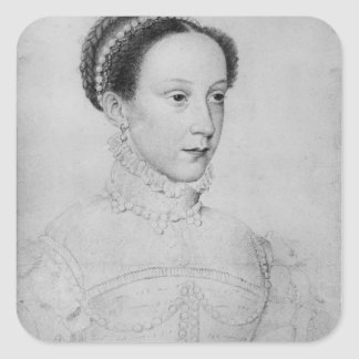 Mary Queen of Scots 1559 Square Stickers