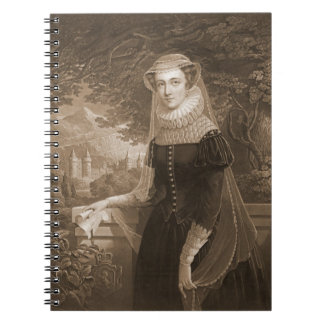 Mary Queen of Scots 1852 Spiral Notebooks