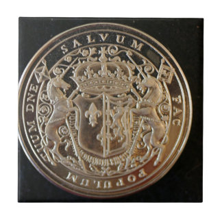 MARY QUEEN OF SCOTS ANCIENT COIN TILES