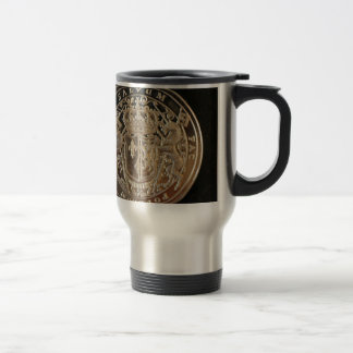 MARY QUEEN OF SCOTS ANCIENT COIN TRAVEL MUG