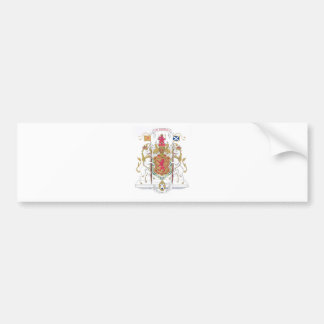 MARY QUEEN OF SCOTS COURT OF ARMS BUMPER STICKER