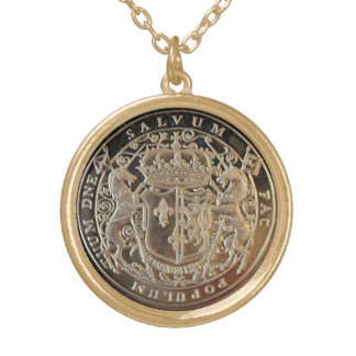 MARY QUEEN OF SCOTS MEDAL PENDANT