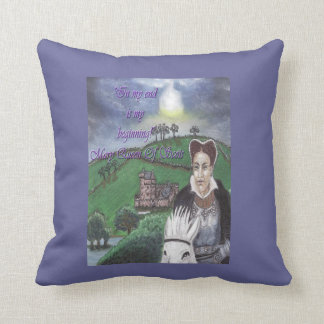 Mary Queen Of Scots Throw Pillows