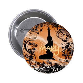 Mary Quite Contrary Button