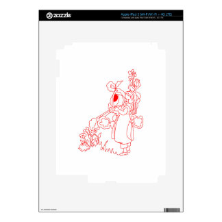 Mary Quite Contrary iPad 3 Decals