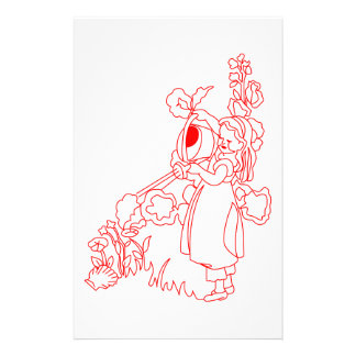 Mary Quite Contrary Stationery