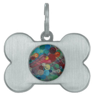 Mary Rafter abstract art Pet ID Tag