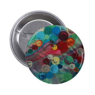 Mary Rafter abstract art Pinback Button