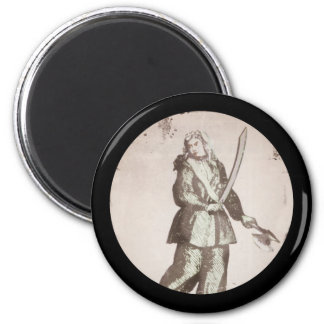 Mary Read Lady Pirate Magnet