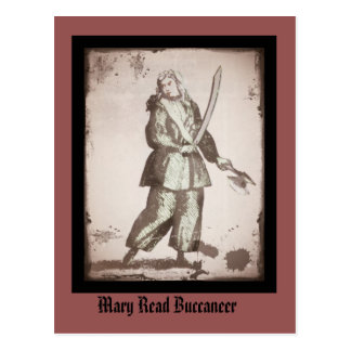 Mary Read Lady Pirate Postcard