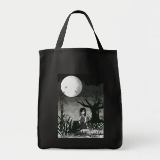 Mary Reaper in her garden Tote Bag