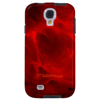 Mary Red Veined Sansung Galaxy s4 cover